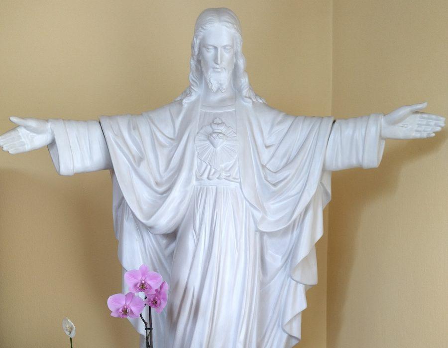 BOŽSKÉ SRDCE JEŽIŠA A SRDCE BL. ALFONZY MÁRIE